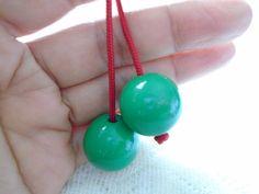 Begleri Green Begleri Begleri beads by OneOfferJewelry on Etsy