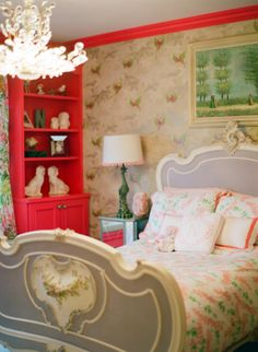 Tip: Don't shy away from color! http://www.stylemepretty.com/living/2015/02/09/21-of-the-prettiest-bedrooms-in-the-world/