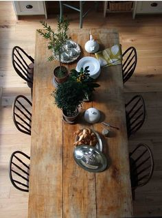 This is what my dining room table will look like! Mike and i are going to build it ourselves.