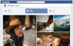 Facebook has enhanced image-viewing on its website.