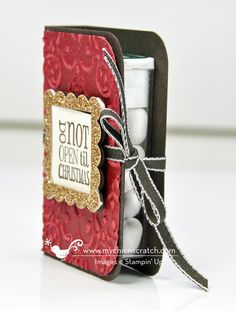 12 Days of Christmas #5 2012 with Stampin Up! Demonstrator Angie Kennedy Juda