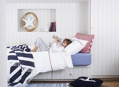 Polly Wreford and Elkie Brown shoot the Spring 2014 collection for The Little White Company