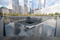 World Trade Center Memorial. (Photo by Richard Silver) http://avaxnews.net/appealing/Mind-bending_Photos_by_Richard_Silver.html #avaxnews.net #travel #art #photo
