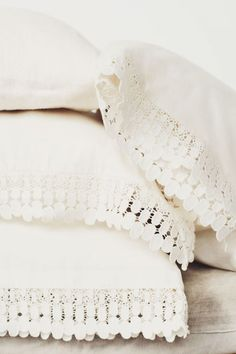 lace pillow slips