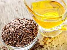 Why is flax seed oil the only oil allowed, and why can't the seeds be eaten? Gerson.  It's the right type of essential fatty acids. Fats other than flax seed oil stimulated tumor growth and even the regrowth of tumors that had resolved. Natural Home Remedies, Herbal Remedies, Health Remedies, Flaxseed Oil Benefits, La Constipation, Psoriasis Remedies, Flax Seed Recipes, Cholesterol Lowering Foods, Cholesterol Levels