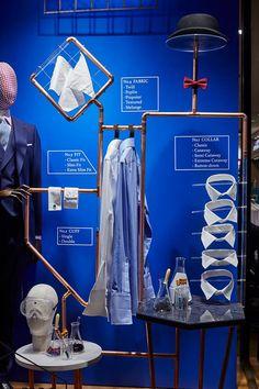 "CHARLES TYRWHITT,London, UK, ""Shirts Lab"", close-up, creative by Harlequin Design, pinned by Ton van der Veer"