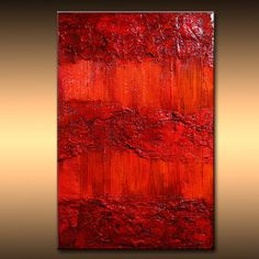 Original Rich Textured Abstract Painting by di newwaveartgallery