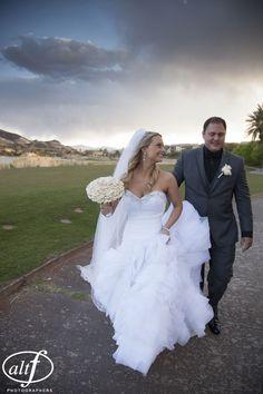 Wedding at The Westin Lake Las Vegas. Photo by Altf  |  Las Vegas Wedding Planner Andrea Eppolito Events
