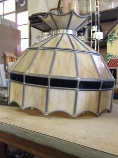 Cool stained glass lamp for your game room/man cave