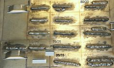 Tests for various gas mixtures on MIG Welding