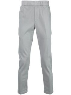 J Brand Elasticated Waist Trousers In Gray J Brand, Size Clothing, Women Wear, Trousers, Slim, Mens Fashion, Jeans, Fitness, Cotton