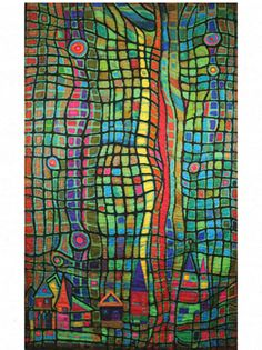 Lightening Strikes quilt by Mary Stoudt Reminds me of Hundertwasser painting Patchwork Quilting, House Quilts, American Crafts, Art Journal Pages, Art Plastique, Fabric Art, Mosaic Art, Textures Patterns, Quilting Designs