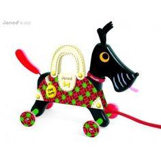 Janod crazy scotty pull along dog toy packaging Dog Toys, Kids Toys, Children's Toys, Pull Along Toys, Toy Packaging, Scottish Terrier, Wooden Toys, Home Goods, Unisex