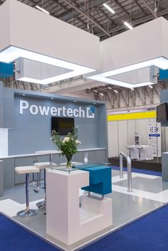 Powertech Stand we designed for the #PowerGen #Africa Conference  #oblongarchitecture #standdesign #exhibitionstand