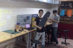 Design phase with Seccond @ FabLab taipei -Taiwan
