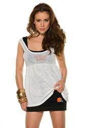 Cleveland Browns Women's 2-In-1 Burnout Baby Doll Top - by Alyssa Milano $38.99 http://www.fansedge.com/Cleveland-Browns-Womens-2-In-1-Burnout-Baby-Doll-Top---by-Alyssa-Milano-_1365587347_PD.html?social=pinterest_pfid51-88037
