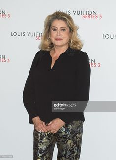 Catherine Deneuve attends the Louis Vuitton Series 3 VIP launch during London Fashion Week SS16 on September 20, 2015 in London, England.