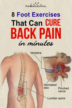 8 Foot Exercises That Can Cure Back Pain in minutes Lower Back Pain Exercises, Foot Exercises, Lower Back Pain Relief, Knee Pain Relief, Sciatica Exercises, Hip Pain, Lower Back Pain Remedies, Mid Back Pain, Sciatica Massage