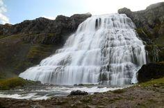 Dynjandi waterfall - Islande