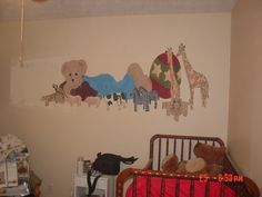 1st mural I did in a baby room