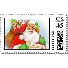 Sweet Santa Christmas Postage