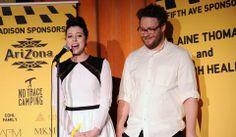 Celebrity champion Seth Rogen and his beautiful wife, Lauren Miller, hosted the first Hilarity for Charity NYC Cocktail Party, bringing together their comedic friends in the name of Alzheimer's research and awareness. Together they raised more than $150,000 for the Alzheimer's Association!