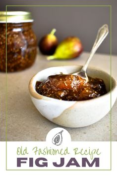 An easy 3-ingredient (plus water) recipe for the most delicious tasting Fig Jam. Relish Sauce, Pickle Relish, Aussie Food, Australian Food, Jelly Recipes, Water Recipes, Homemade Fig Jam, Anzac Biscuits, Pavlova Recipe