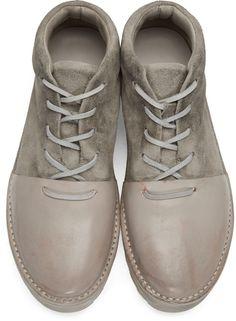 Marsèll - Grey Sancrispa Alta Boots