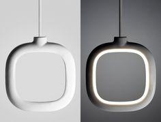 two.parts - 3D Printed Ceramic lights Designer: Christo Logan