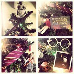 My Harry Potter Christmas Tree #harrypotter #christmas #tree