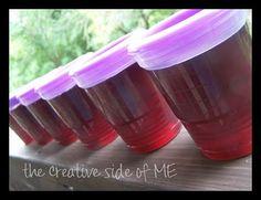 Pomegranate Jelly from juice