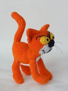 Azrael the Cat Amigurumi Crochet Pattern by IlDikko on Etsy, $5.20