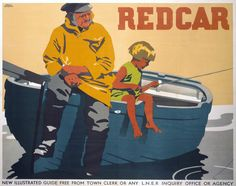'Redcar', LNER poster, 1932.