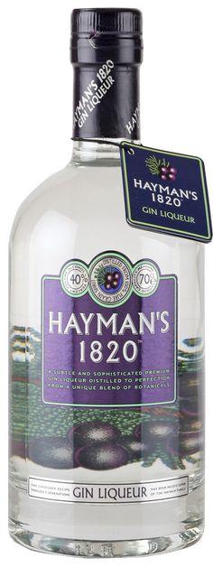 Hayman's, Licor de Ginebra, 1820