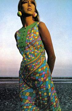 Foto Fashion, Fashion History, Fashion Models, Fashion Beauty, 60s And 70s Fashion, Vintage Fashion, Vintage Chic, Vintage Dresses, Vintage Outfits
