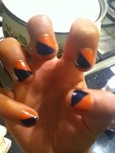 How to Make Two Tone Nails