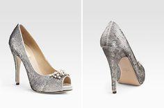 Wedding shoes via Shira Weinberger Bridal Fashion