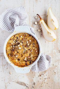 Birnen-Apfel-Auflauf mit Nüssen | http://eatsmarter.de/rezepte/birnen-apfel-auflauf-mit-nuessen