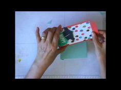 エンベロープパンチボードで作るギフトカードホルダー - YouTube