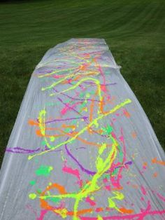 How To.... For Teens:Paint Slip N Slide - Want to know how to do something or just want to do something fun ?   Then read...