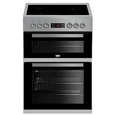 Buy Beko 50 cm Double Oven Electric Cooker with Ceramic Hob - White from Appliances Direct - the UK's leading online appliance specialist