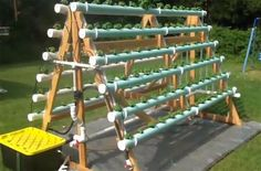 How To Grow 168 Plants In A 6 X 10 Space With A DIY A-Frame Hydroponic System - Home Design - Google+