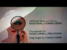 This is the opening titles of 'Funny Face' which is mainly set in 1950s Paris. There is nice block images and typography. Jessica