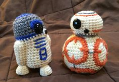 THESE ARE THE DROIDS YOURE LOOKING FOR! Snuggly, soft and cute... Perfect for all ages! These are PDF PATTERNS only, not actual toys. These are my own,