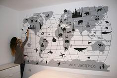 i love it, wall trend...