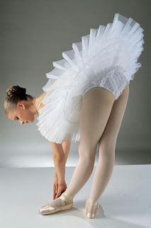 Since I'm now on the subject of Ballet, let's talk tutus. If I'm going to make one, even if it is just a costume for myself, I want to do it...