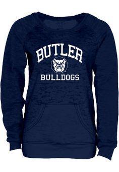 Product: Butler University Bulldogs Women's Burnout Crewneck Sweatshirt