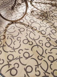 1900: Pedrera Basalto - 20x20cm.   Floor Tiles   VIVES Azulejos y Gres S.A. #hydraulic #tile #design