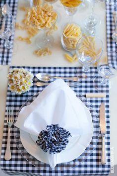receber em casa – mesa e cardápio italiano