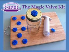 Magic Valve : save food, save your money and eco friendly ! by Monika & Andrea — Kickstarter.  Reuse your empty glass jars and transform them into perfect vacuum food sealed containers to use time and time again. Eco friendly